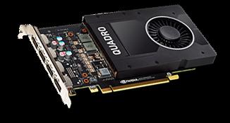 NVIDIA Quadro P2000 5 GB GDDR5 Grafikkarte - 4x DisplayPort