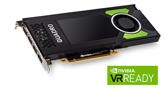 NVIDIA Quadro P4000 8 GB GDDR5 Grafikkarte - 4x DisplayPort